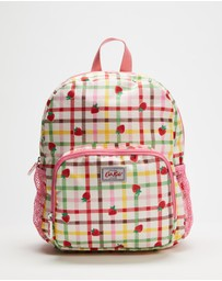 Cath Kidston - Large Strawberry Gingham Rucksack - Kids