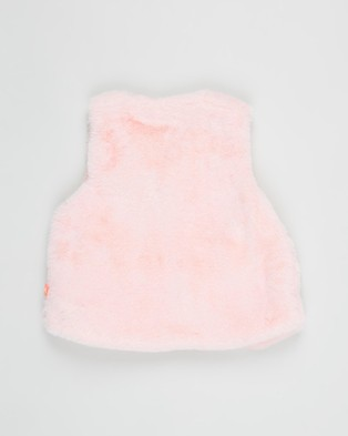 Billieblush Sleeveless Cardigan   Babies - Coats & Jackets (Pink)