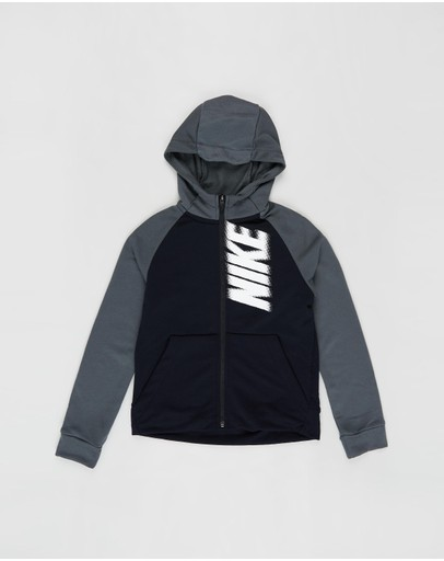 Nike - Dry GFX Full-Zip Fleece Hoodie - Teens