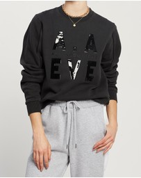 All About Eve - AAE Piping Crew Sweater