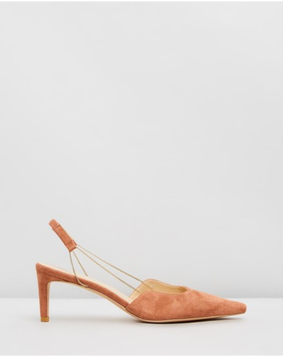 Atmos&Here - Sally Leather Heels