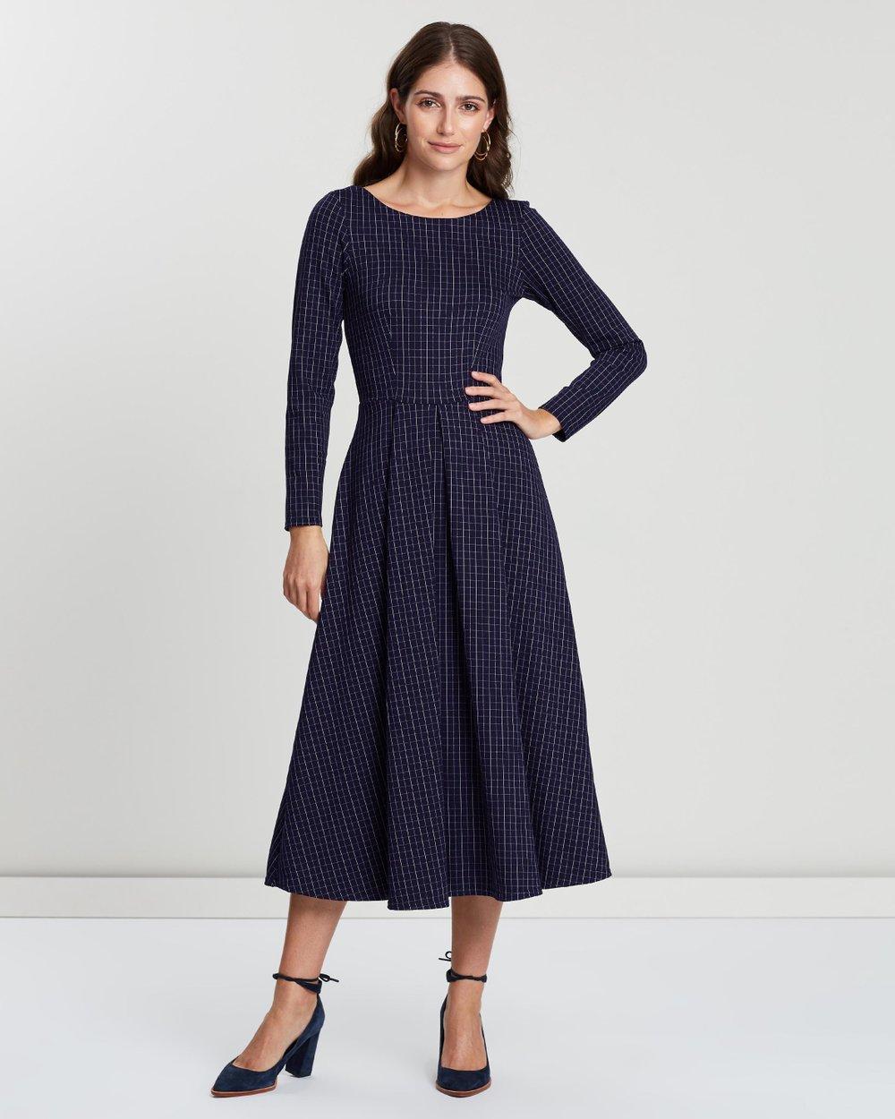 743c431da2 Pleated Full Skirt Dress by Closet London Online