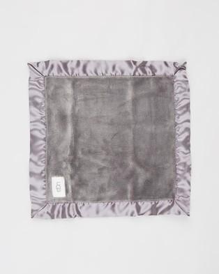 UGG Bixbee Bootie & Lovey Blanket Gift Set   Babies - Blankets (Charcoal)