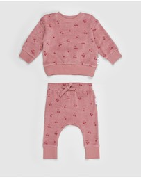 Huxbaby - Iconic Exclusive Terry Sweat & Pants Set - Babies-Kids
