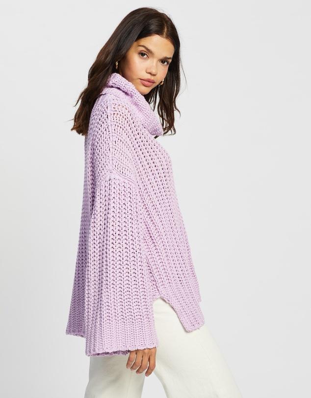 Women Organic Cotton Oversized Knit