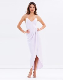 Shona Joy - Cocktail Draped Maxi Dress