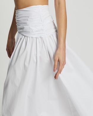 Dazie Holly Midi Skirt - Skirts (White)