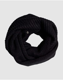 Roxy - Moon Child Knitted Infinity Scarf