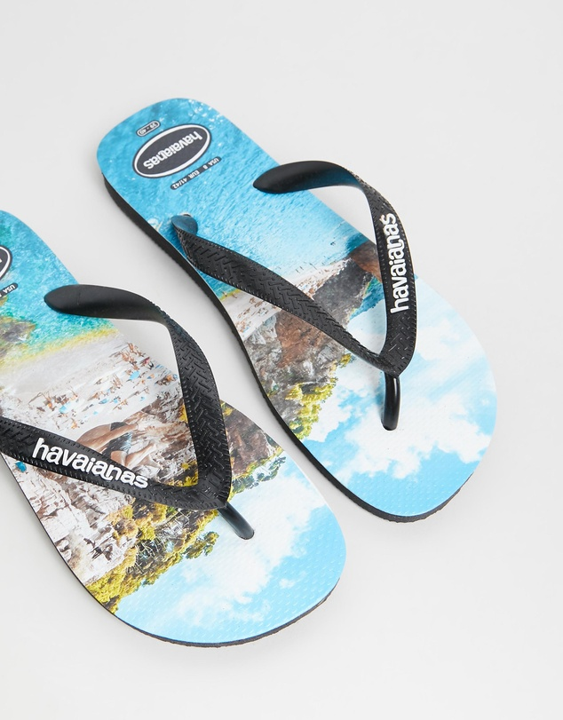 Havaianas - Photoprint Cliff Jump Thongs - Men's