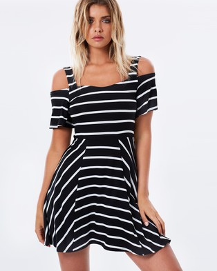 Atmos & Here – Macey Dress – Dresses (Stripe)