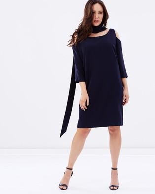 Embody Denim – Polyanna Dress – Dresses (Navy)