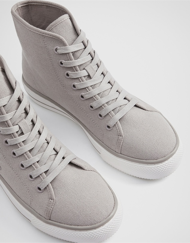 Women Recycled Cotton High Top