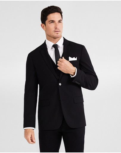 Tarocash Supreme Stretch Suit Jacket Black