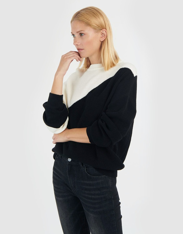 Women Georgina Contrast Sweater