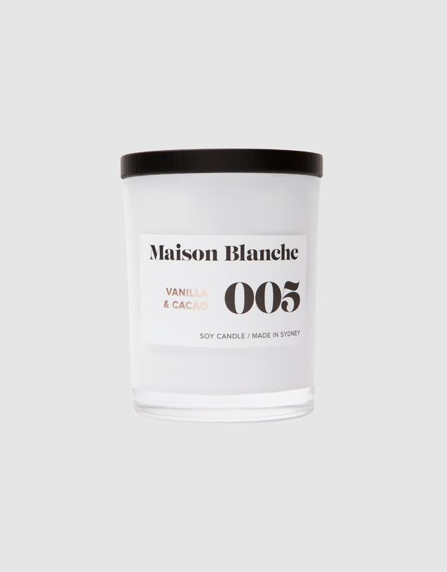 Life 005 Vanilla & Cacao - Medium Candle