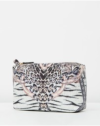 Camilla - Saffiano Printed Make Up Bag