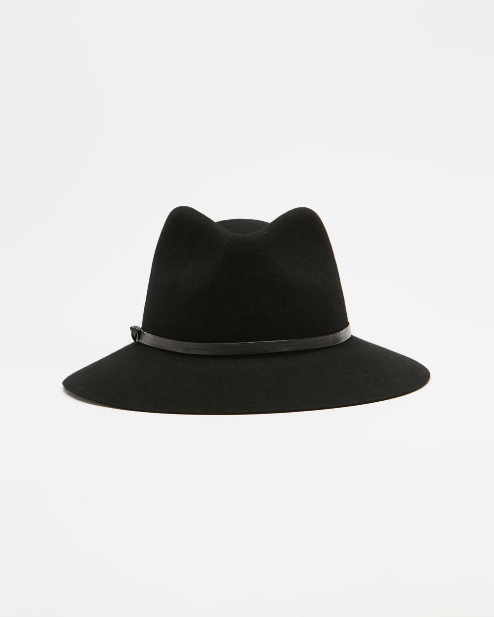 Ace Of Something ICONIC EXCLUSIVE Durango Fedora Hats Black