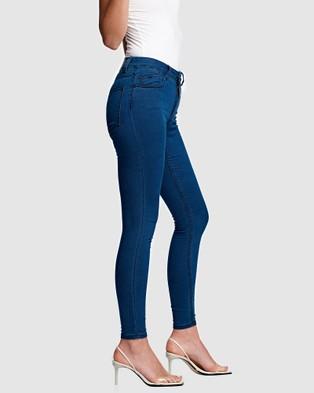 RES Denim Kitty Skinny Jeans - Jeans (Blue)