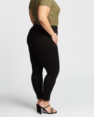 Atmos&Here Curvy Roma Skinny Jeans - Jeans (Black)