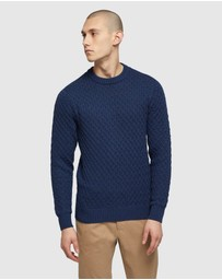 Oxford - Flynn Crew Neck Knit