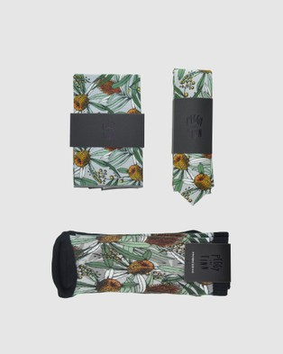 Peggy and Finn - Banksia Tie Gift Box - Ties (Grey) Banksia Tie Gift Box