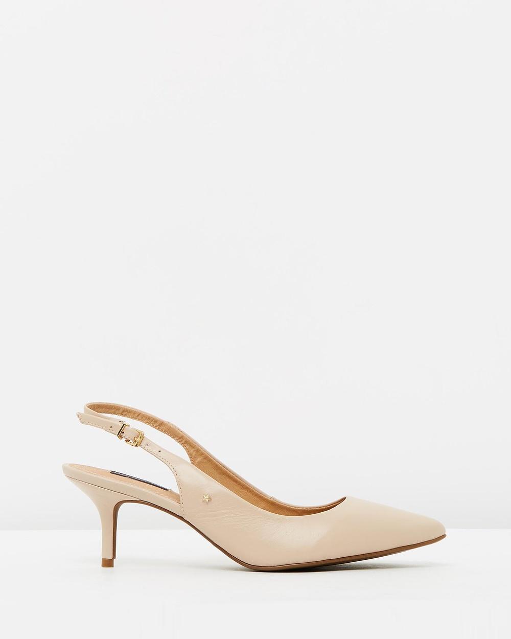 Nina Armando Moana Mid-low heels Beige Moana