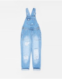Cotton On Kids - Ginnie Slouch Overalls - Kids-Teens