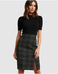Forever New - Amber Boucle Pencil Skirt