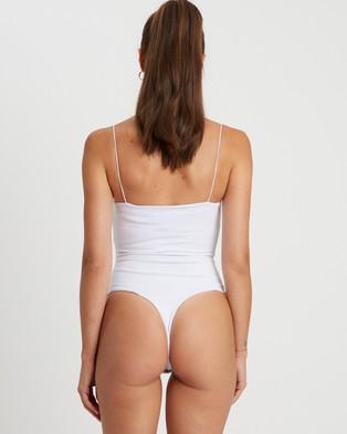 BWLDR Pompeii Bodysuit - Tops (White)