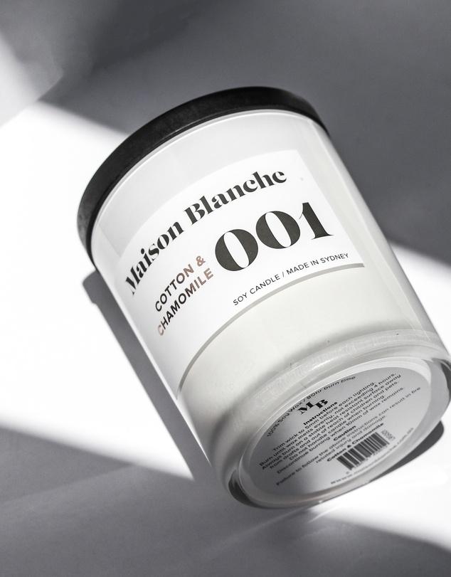 Life 001 Cotton & Chamomile - Large Candle