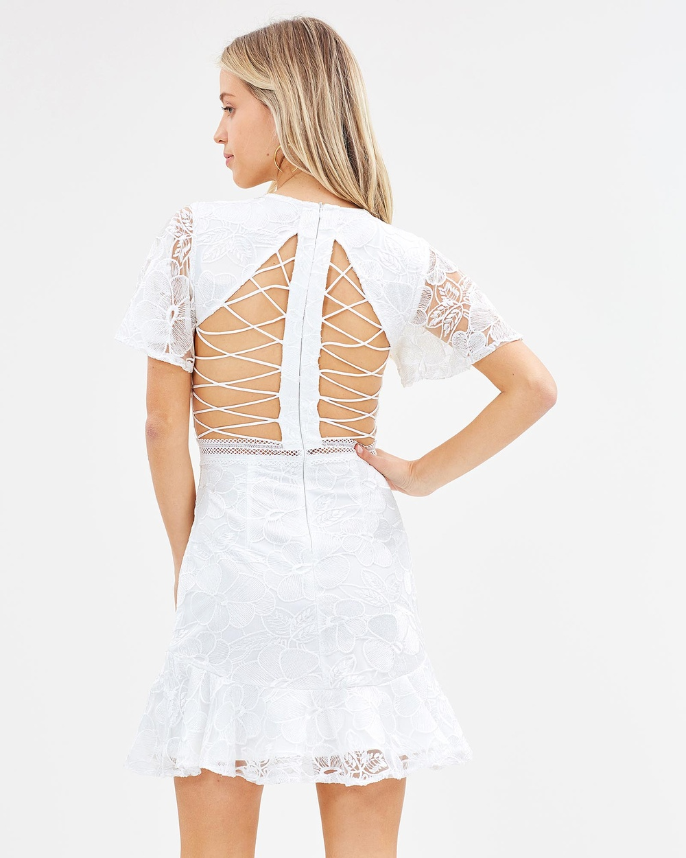 Twosister's The Label Alexia Dress Dresses White Alexia Dress
