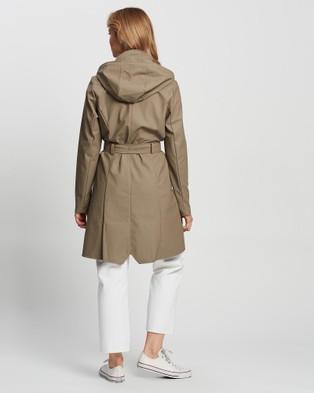 RAINS - Curve Jacket Accessories (Taupe)