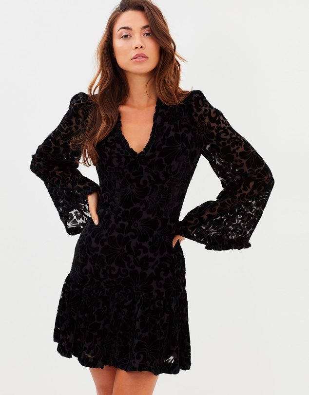 Cooper St - Venice Long Sleeve Mini Dress