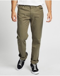 Volcom - Solver 5 Pocket Modern Fit Twill Pants