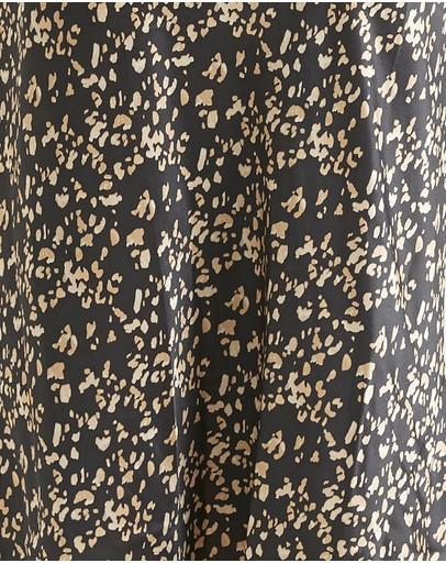 Ginia Silk Shorts Leopard Print