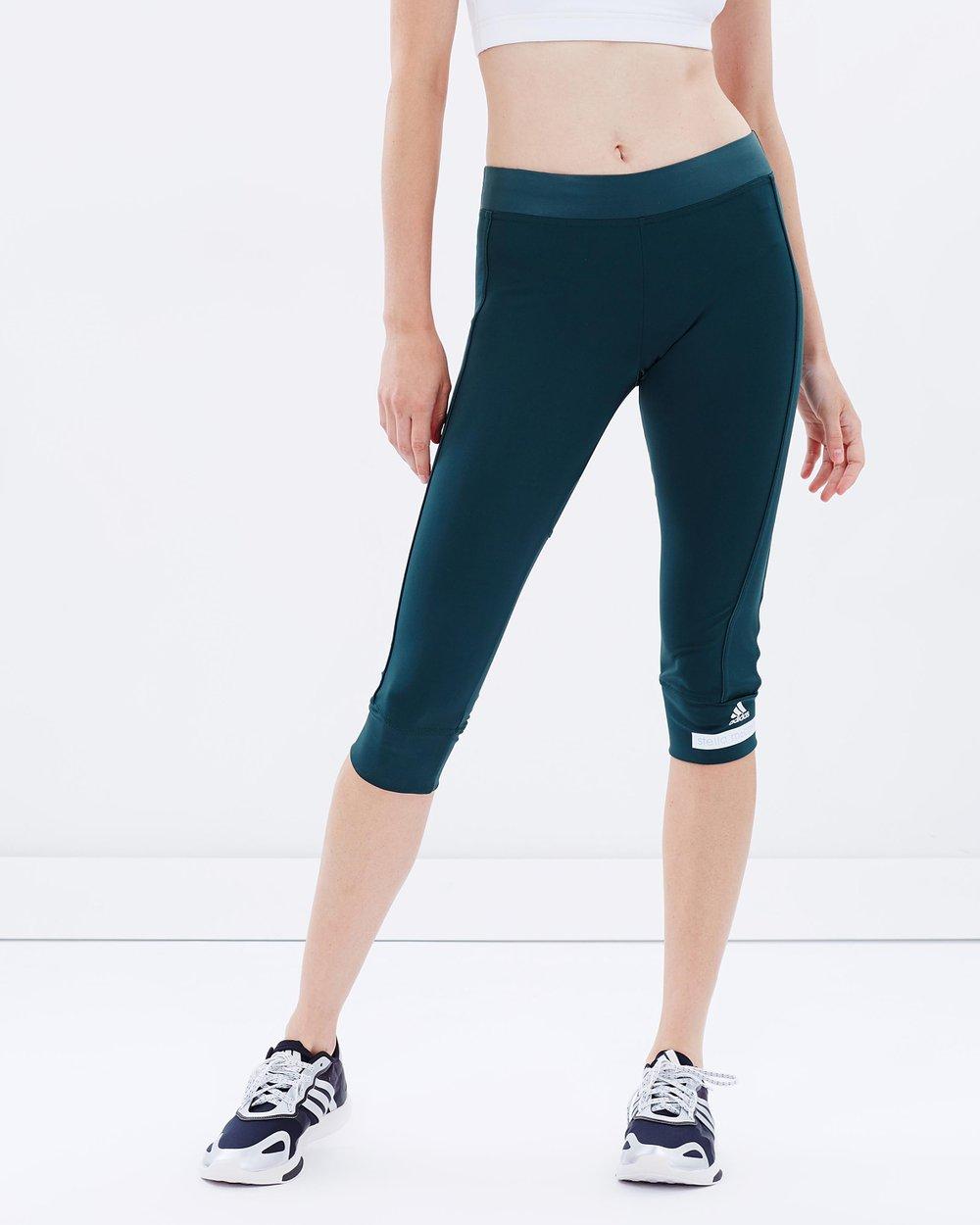 060dcdb02d8a4 Adidas Alphaskin Capri Legging In Gray | 2019 trends | xoosha