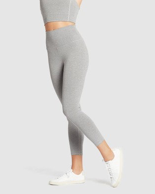 Nimble Activewear - Studio High Rise Tights 7/8 (Grey Speckle)