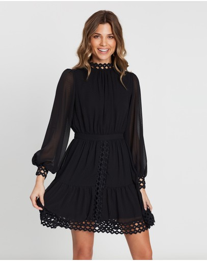 Atmos&Here - Lace Insert Dress