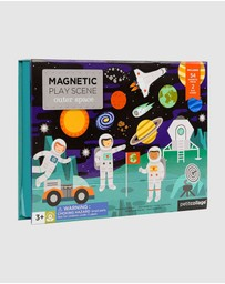 Petit Collage - Magnetic Play Set - Outer Space