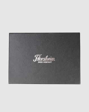 Florsheim Midway Passport Wallet - Wallets (black/grey)