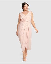 Forever New Curve - Vienna Formal Wrap Curve Dress
