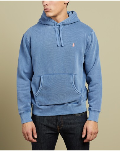 Polo Ralph Lauren - Dyed Fleece Long Sleeve Knit - ICONIC Exclusives