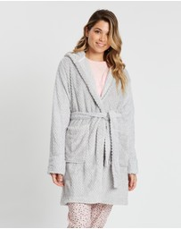 Cotton On Body - Hooded Luxe Plush Gown