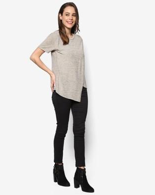 BoyFromBlighty – BoyFromBlighty Knit Wear Essentials – Tops (Tan)