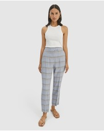 SABA - Dani Check Suit Pants