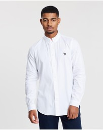 PS by Paul Smith - Tailored Long Sleeve Button-Down Shirt