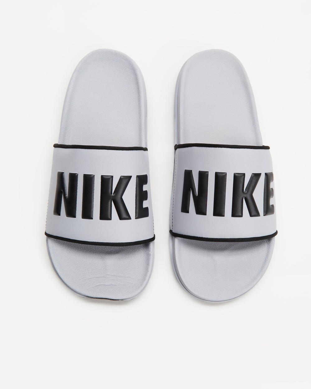 Nike Offcourt Slides Men's Casual Shoes Wolf Grey, Black & Wolf Grey