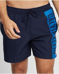 Calvin Klein Swimwear - Intense Power Medium Drawstring Boardshorts