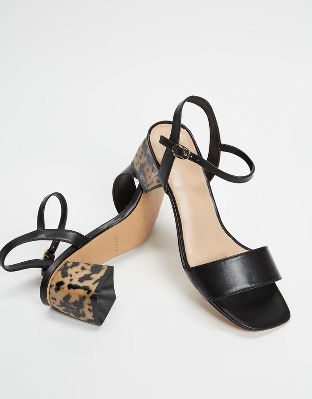 Women Gleawia Midi Block Heel