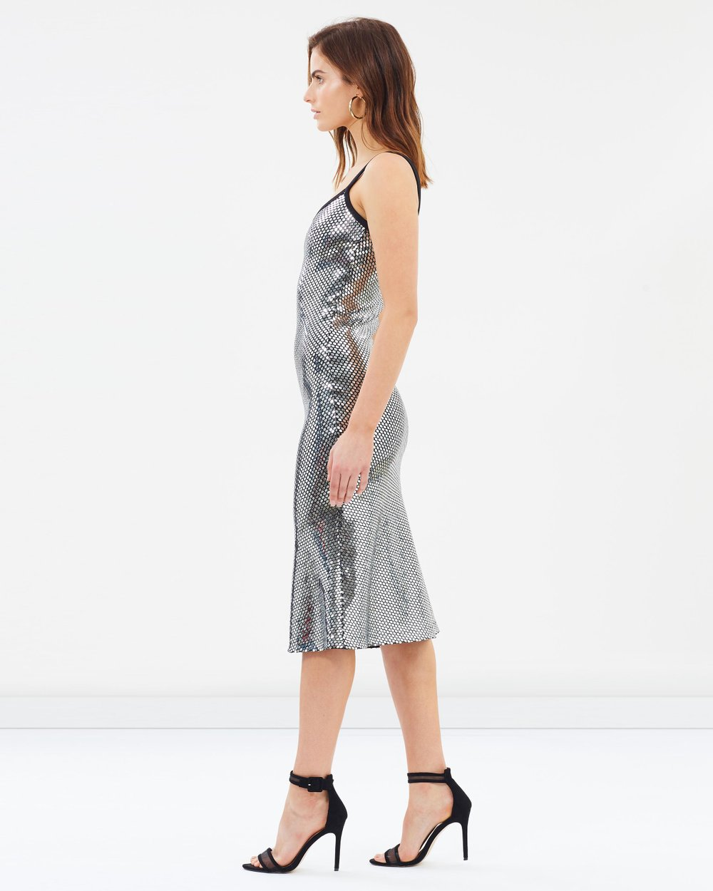 01d9d33fc7d4e Reflections Bias Slip Dress by BY JOHNNY. Online | THE ICONIC | Australia